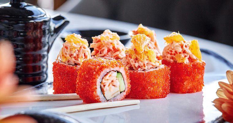 50% скидка на Суши-бар в ресторане ERWIN. РекаМореОкеан