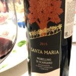 вино  Modellino di Scansano Santa Maria на дегустации
