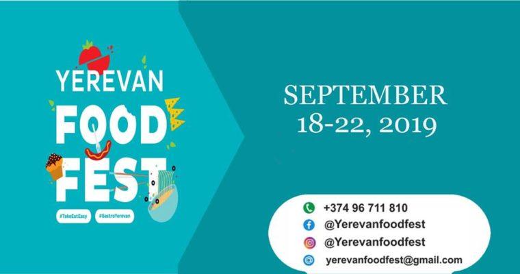 Yerevan Food Fest 2019