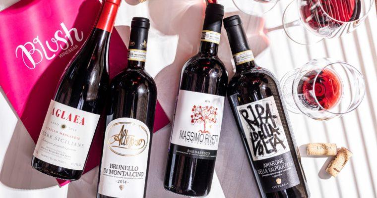«Безумные итальянские недели» вин в гастробаре Blush