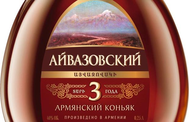 «Лудинг» выводит в Россию собственный коньячный бренд «Айвазовский»