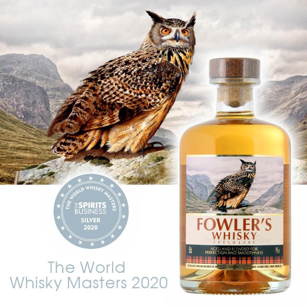 Виски Fowler's завоевал серебро на Whisky Masters