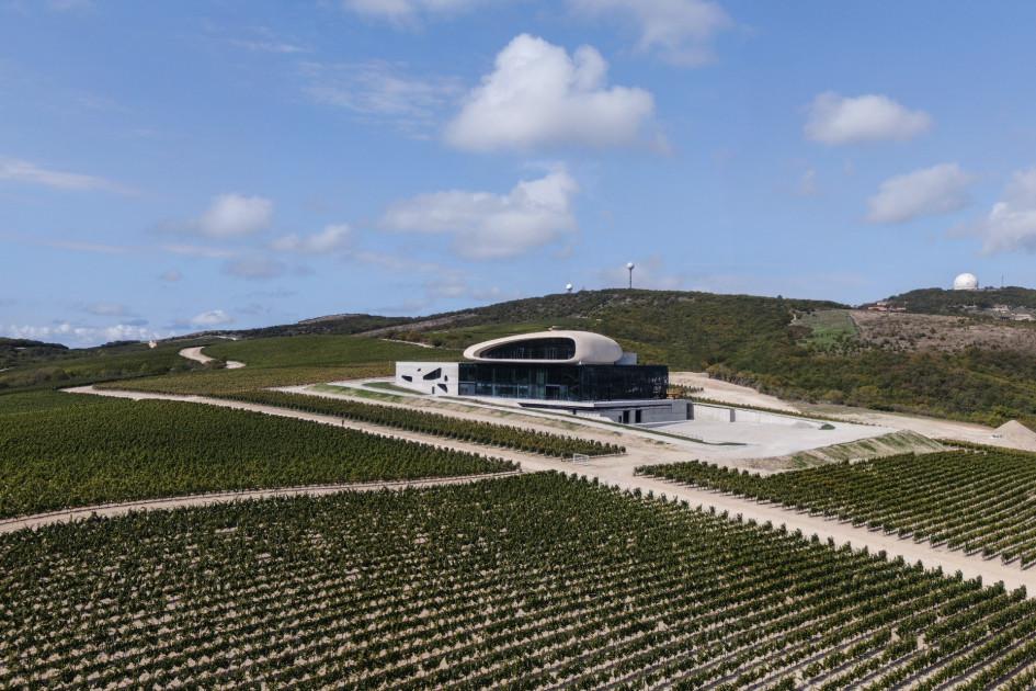 Гравитационная винодельня под Анапой закончила строиться