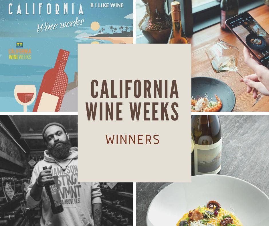 Подведены итоги фестиваля California Wine Weeks