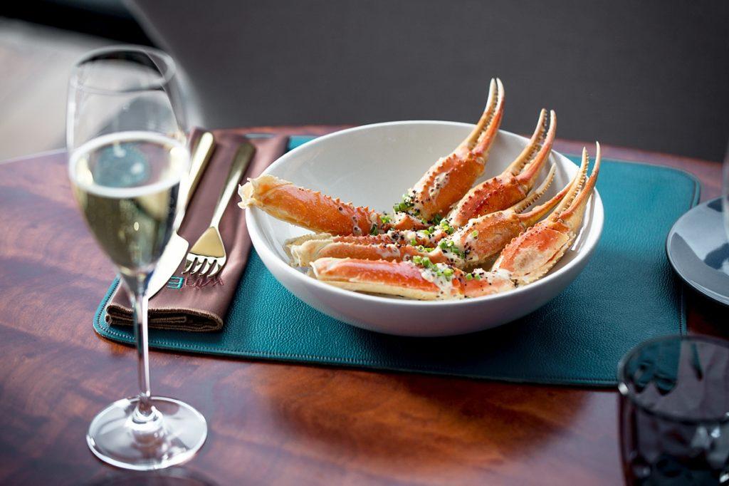 бранчи в Wine & Crab на Никольской