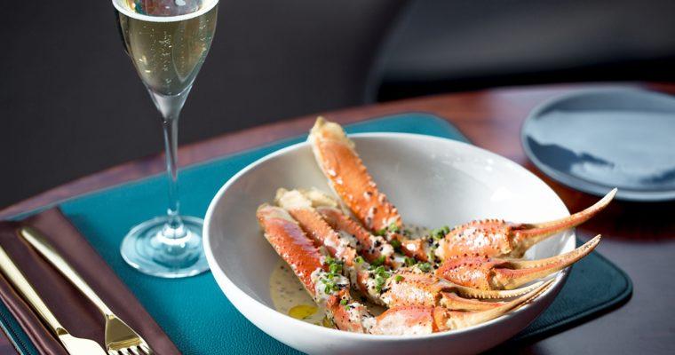 Крабы + шампанское = бранчи в Wine&Crab на Никольской