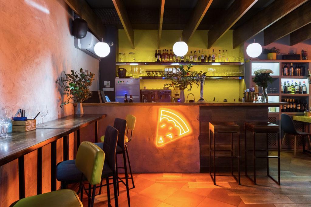 Crosta pizza bar - новый проект Евгении Качаловой