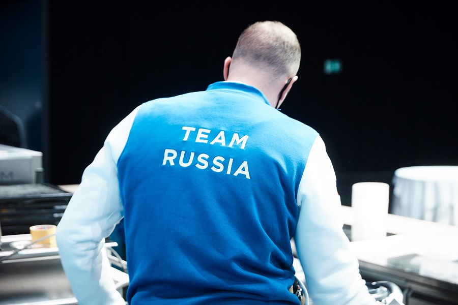 Российская команда в финале конкурса Bocuse d'Or