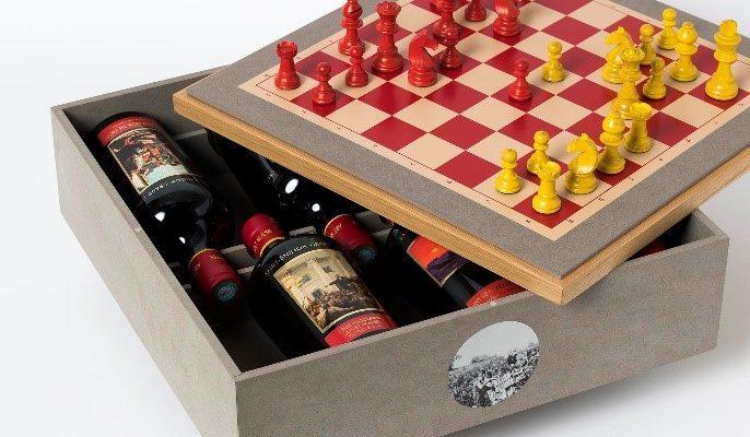 Вино и шахматы – суперприз лучшего шахматиста