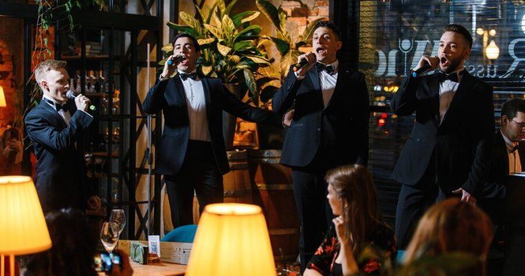 Вечер итальянской музыки в первом баре российского вина