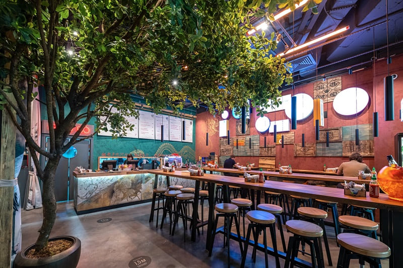 Тайный Ganesha Bar при азиатском бистро In Asia в Москва-Сити